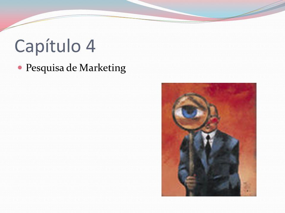 Capítulo 4 Pesquisa de Marketing