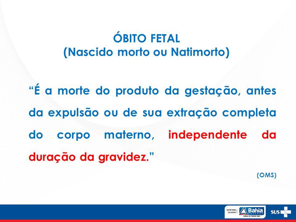 Investigação de óbitos infantis.Brasil, 2011-2013*.