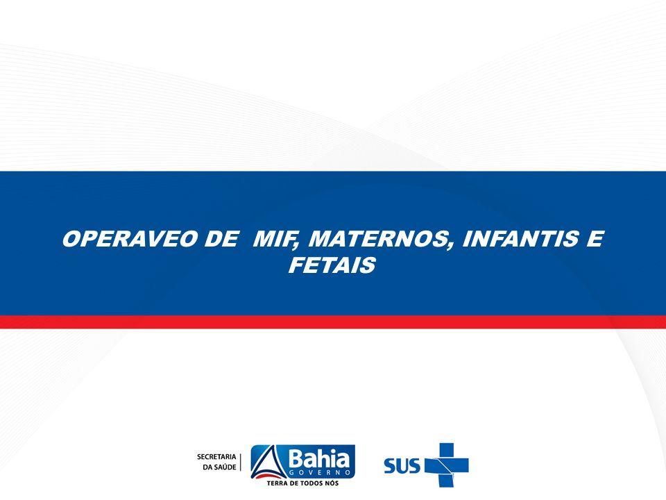 Quadro 1.Proporção de óbitos de MIF investigados.