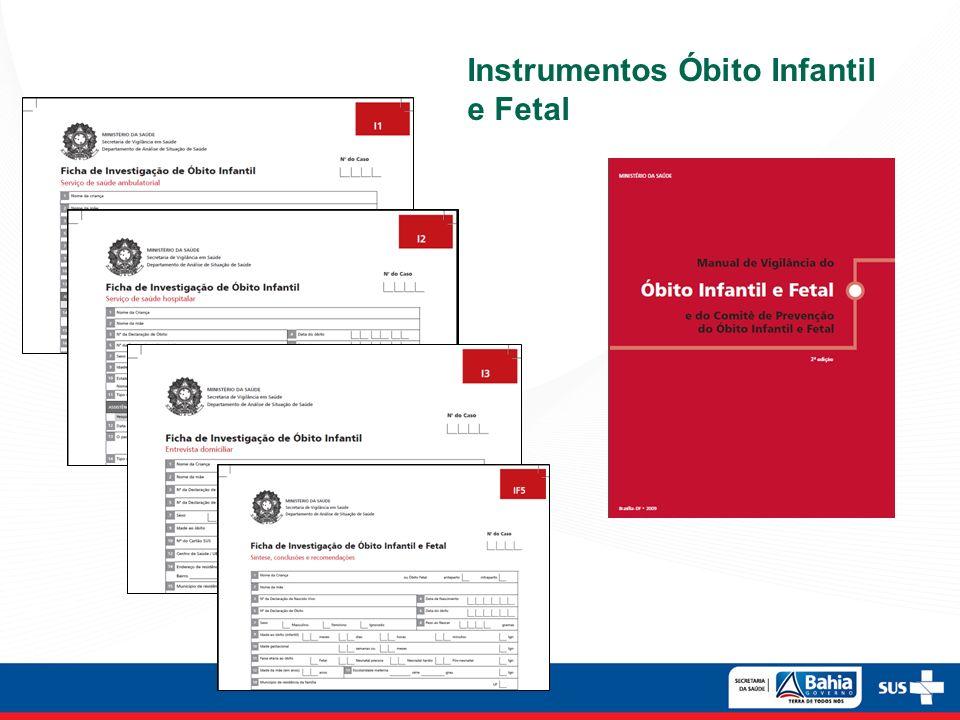 Instrumentos Óbito Infantil e Fetal