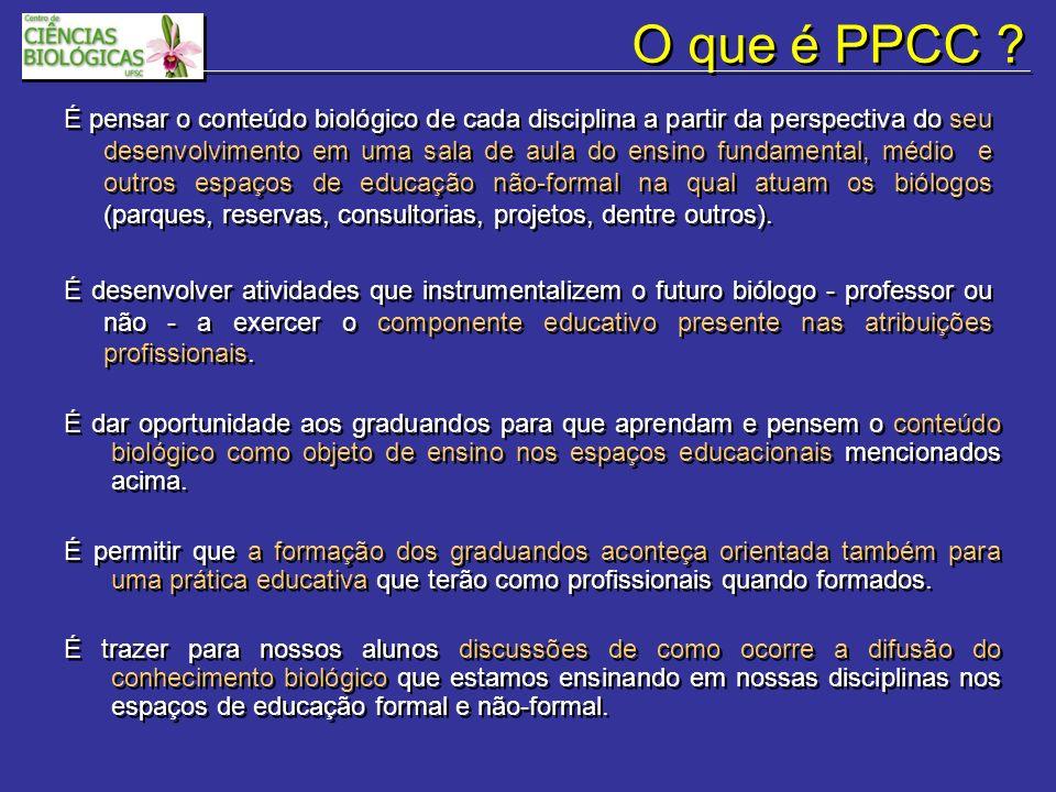 O que é PPCC .