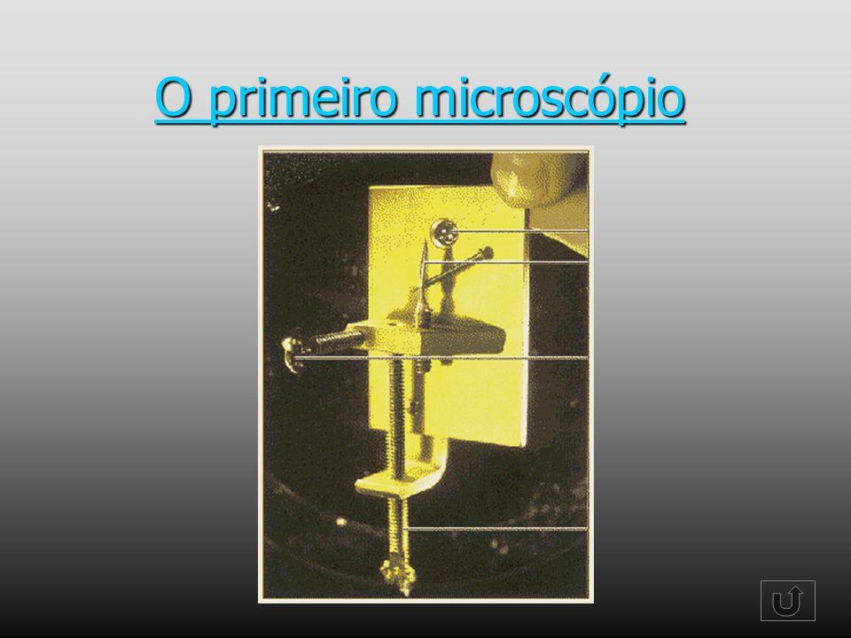 O primeiro microscópio O primeiro microscópio