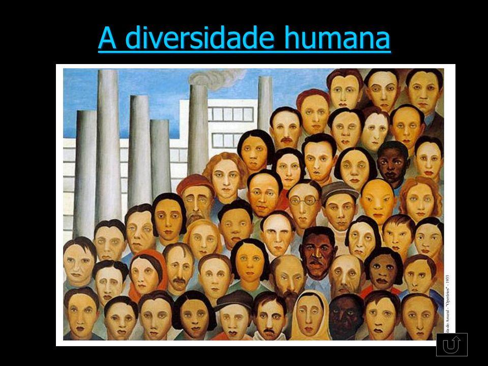 A diversidade humana A diversidade humana