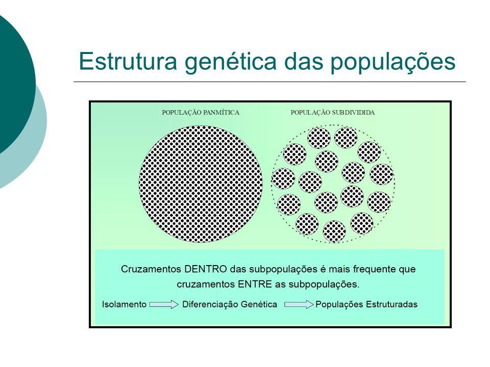 Estrutura genética das populações
