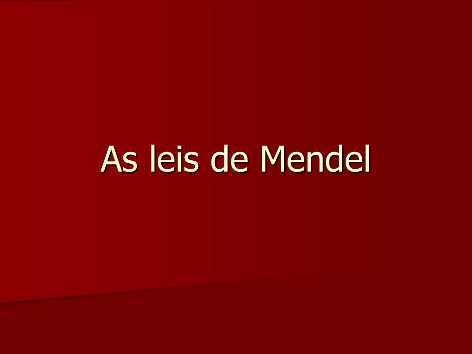 As leis de Mendel