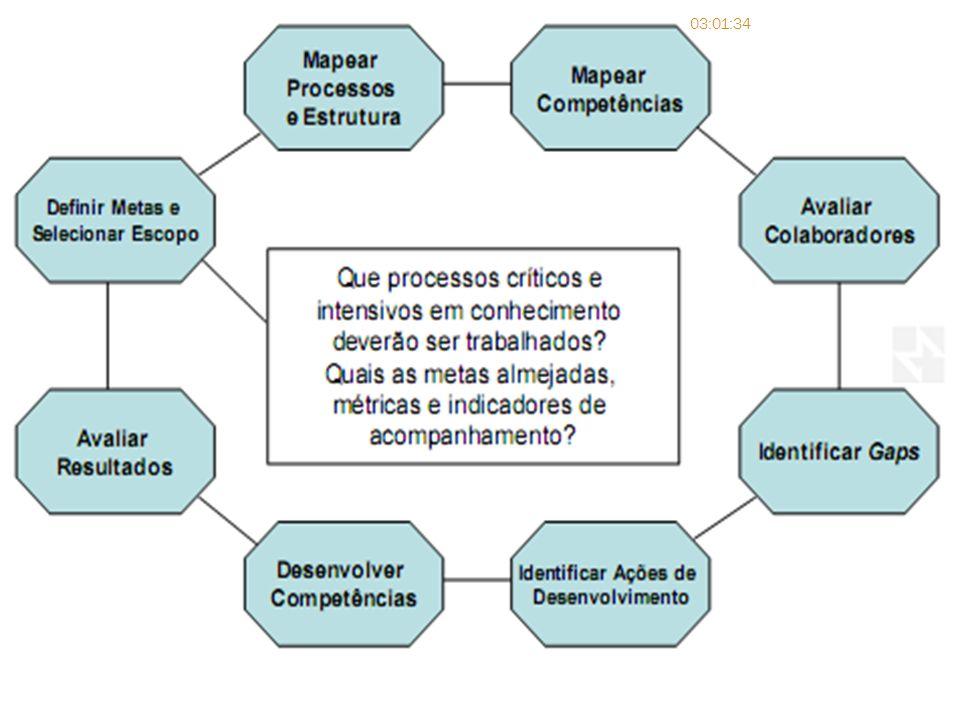 Passado essa etapa, o objetivo é definir as competências organizacionais.