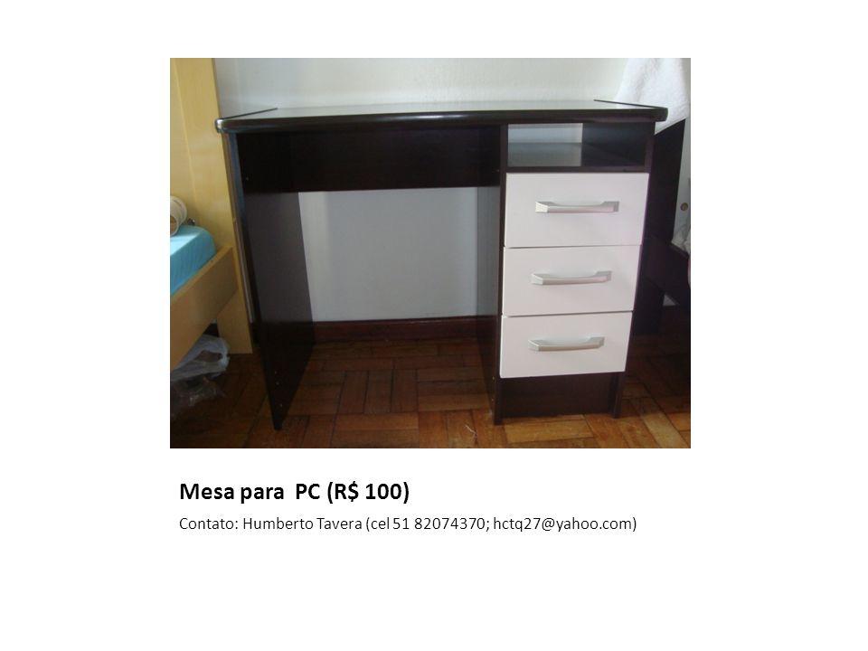 Cadeira Giratória Neoplast 720 Com Braço (R$ 90) Contato: Humberto Tavera (cel 51 82074370; hctq27@yahoo.com)