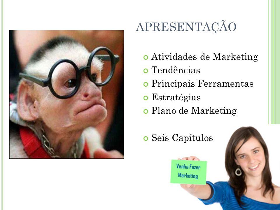 O P ROFISSIONAL DE M ARKETING Campeões do consumidor Preocupações com clientes Inovadores do negócio Identificar oportunidades Motivadores do crescimento Crescimento rentável