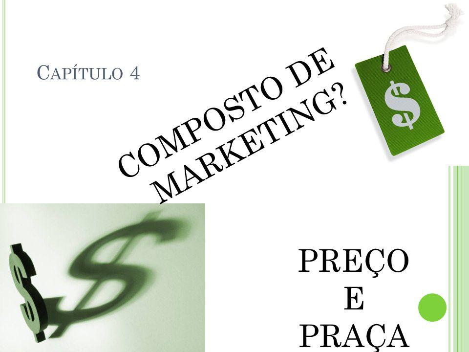 C APÍTULO 4 COMPOSTO DE MARKETING? PREÇO E PRAÇA