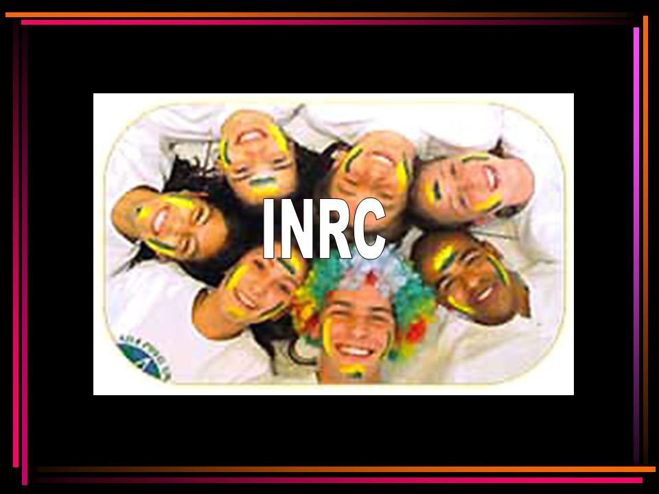 INRC I : operação idêntica N: operação inversa R: operação recíproca C: operação inversa da recíproca