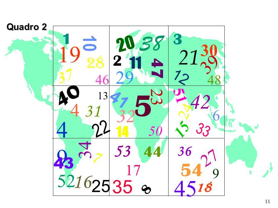 1 19 28 37 46 20 38 2 29 47 11 30 21 12 39 40 4 31 4949 22 41 32 5 23 14 50 51 42 6 24 15 33 34 7 43 52 16 53 44 17 35 26 8 36 27 54 45 18 9 3 13 48 2