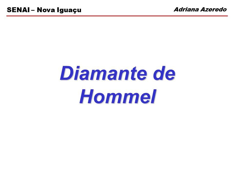 Adriana Azeredo SENAI – Nova Iguaçu Diamante de Hommel Adriana Azeredo SENAI – Nova Iguaçu