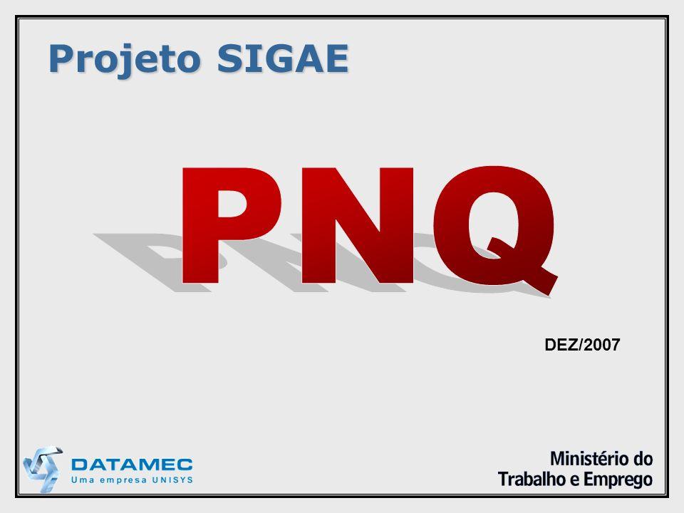 Projeto SIGAE DEZ/2007