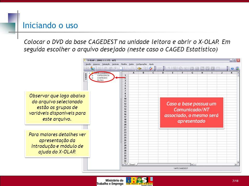 /18 18 Departamento de Emprego e Salário - DES Coordenação Geral de Estatísticas do Trabalho - CGET Esplanada dos Ministérios - Bloco F - Edifício anexo, ala B, sala 211 Brasília / DF - 70059-900 Tel: (61) 3317.6666 /6667 - Fax: (61) 3317.8272 Web Site: http://www.mte.gov.br E-mail: cget.sppe@mte.gov.brhttp://www.mte.gov.brcget.sppe@mte.gov.br Departamento de Emprego e Salário - DES Coordenação Geral de Estatísticas do Trabalho - CGET Esplanada dos Ministérios - Bloco F - Edifício anexo, ala B, sala 211 Brasília / DF - 70059-900 Tel: (61) 3317.6666 /6667 - Fax: (61) 3317.8272 Web Site: http://www.mte.gov.br E-mail: cget.sppe@mte.gov.brhttp://www.mte.gov.brcget.sppe@mte.gov.br MINISTÉRIO DO TRABALHO E EMPREGO