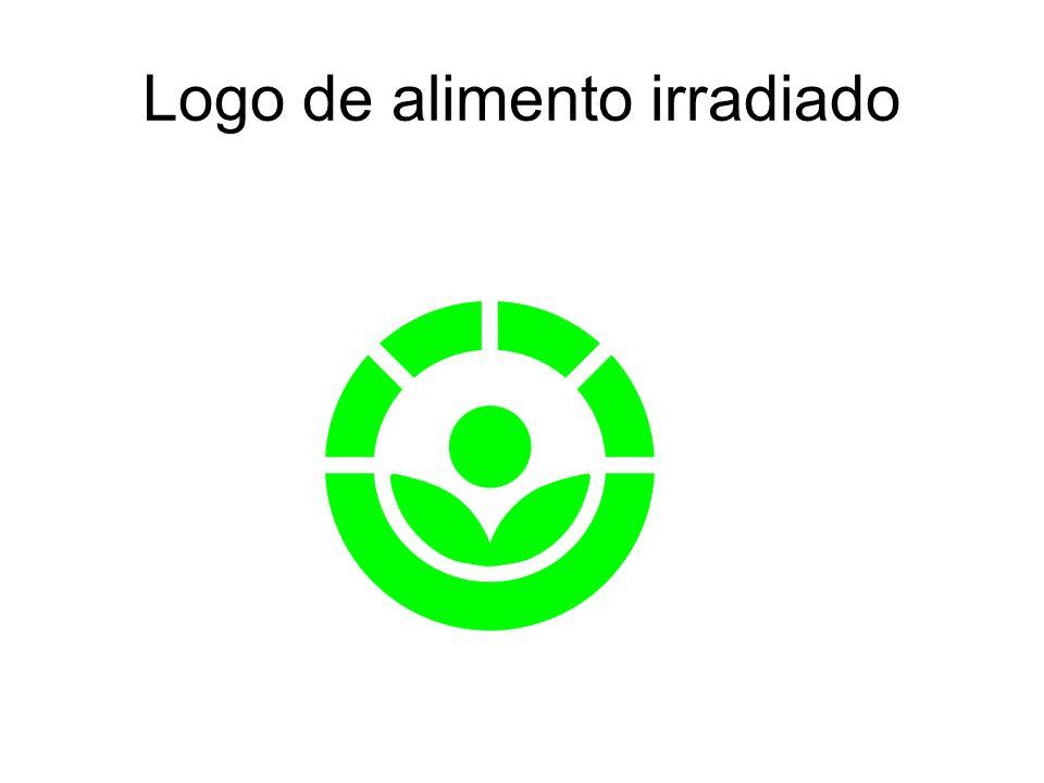 Logo de alimento irradiado