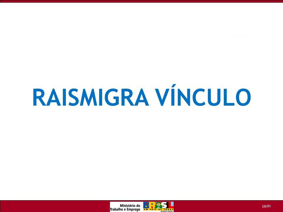 /31 16 RAISMIGRA VÍNCULO