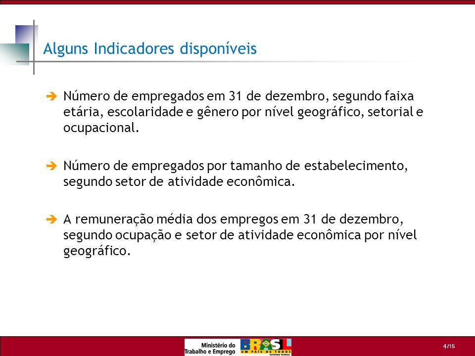 /15 15 Departamento de Emprego e Salário - DES Coordenação Geral de Estatísticas do Trabalho - CGET Esplanada dos Ministérios - Bloco F - Edifício anexo, ala B, sala 211 Brasília / DF - 70059-900 Tel: (61) 3317.6666 /6667 - Fax: (61) 3317.8272 Web Site: http://www.mte.gov.br E-mail: cget.sppe@mte.gov.brhttp://www.mte.gov.brcget.sppe@mte.gov.br Departamento de Emprego e Salário - DES Coordenação Geral de Estatísticas do Trabalho - CGET Esplanada dos Ministérios - Bloco F - Edifício anexo, ala B, sala 211 Brasília / DF - 70059-900 Tel: (61) 3317.6666 /6667 - Fax: (61) 3317.8272 Web Site: http://www.mte.gov.br E-mail: cget.sppe@mte.gov.brhttp://www.mte.gov.brcget.sppe@mte.gov.br MINISTÉRIO DO TRABALHO E EMPREGO
