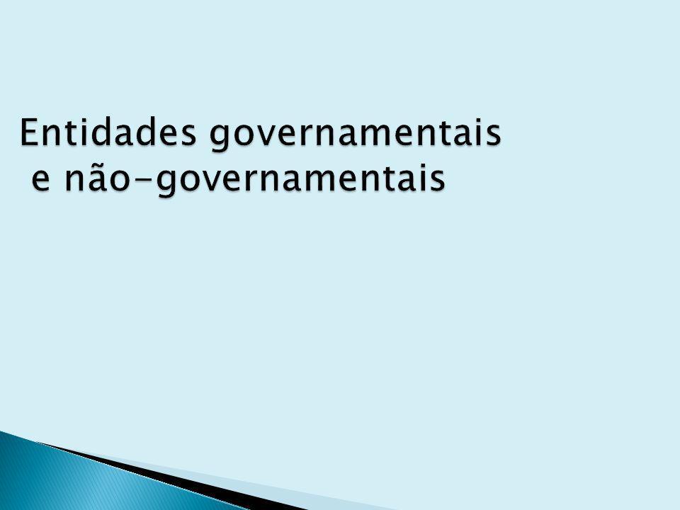 Entidades governamentais e não-governamentais - Câmara de Comércio Exterior – CAMEX Secretaria da Receita Federal – SRF Ministério do Desenvolvimento da Indústria e Comércio Exterior – MDIC Secretaria de Comércio Exterior – SECEX Agência de Promoção de Exportações do Brasil – APEX Ministério das Relações Exteriores – MRE Banco Central do Brasil – Bacen Banco do Brasil – BB Banco Nacional de Desenvolvimento Econômico e Social – BNDES Serviço Brasileiro de Apoio às Micro e Pequenas Empresas – Sebrae Câmaras de Comércio Associação Comercial e Industrial Empresa Brasileira de Correios e Telégrafos