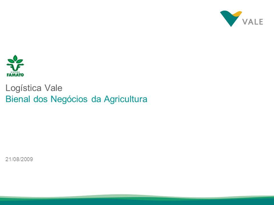 Logística Vale Bienal dos Negócios da Agricultura 21/08/2009