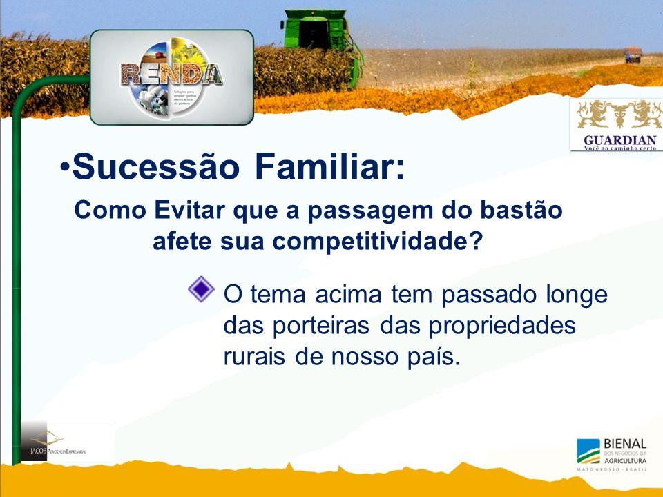 Sucessão Familiar: Como Evitar que a passagem do bastão afete sua competitividade.