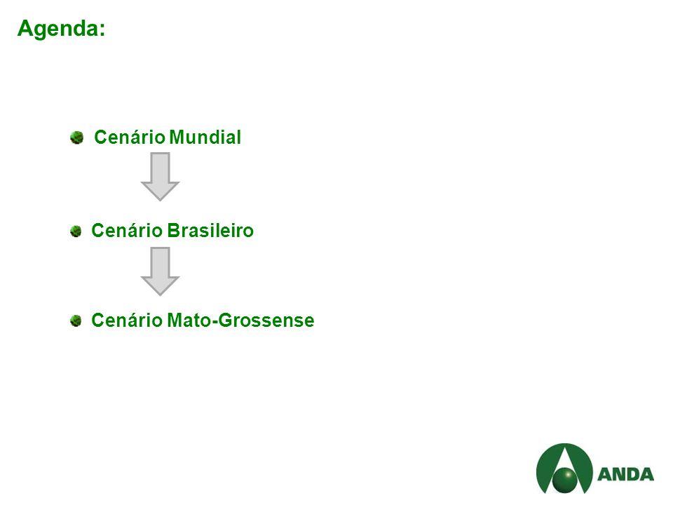 Agenda: Cenário Mundial Cenário Brasileiro Cenário Mato-Grossense
