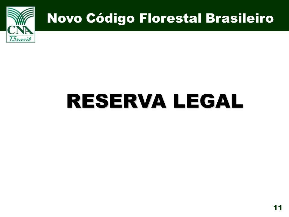 11 RESERVA LEGAL Novo Código Florestal Brasileiro