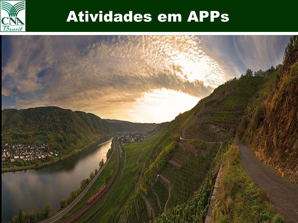 24 Atividades em APPs Uva em APPs – Vale dos Vinhedos Bento Gonçalves - RS