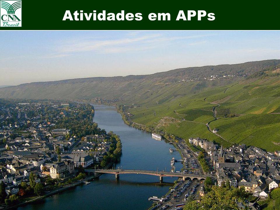 25 Atividades em APPs Uva em APPs – Vale dos Vinhedos Bento Gonçalves - RS