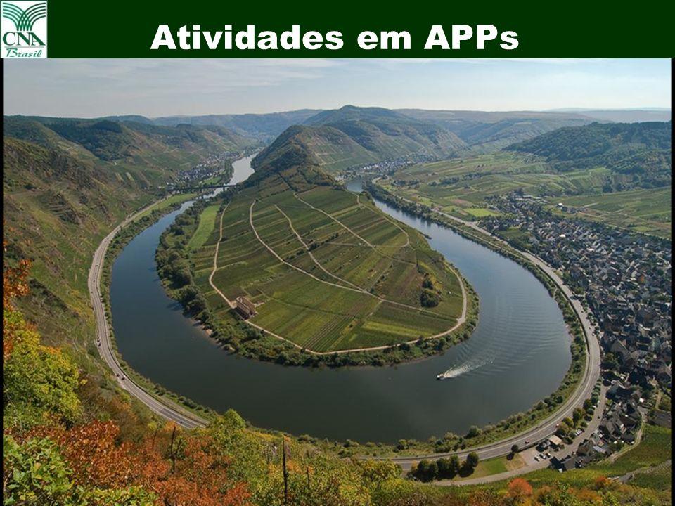 26 Atividades em APPs Uva em APPs – Vale dos Vinhedos Bento Gonçalves - RS