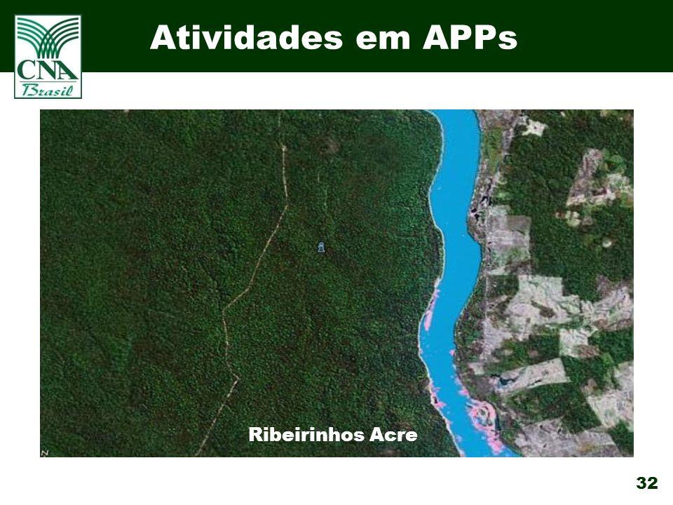 32 Atividades em APPs Ribeirinhos Acre