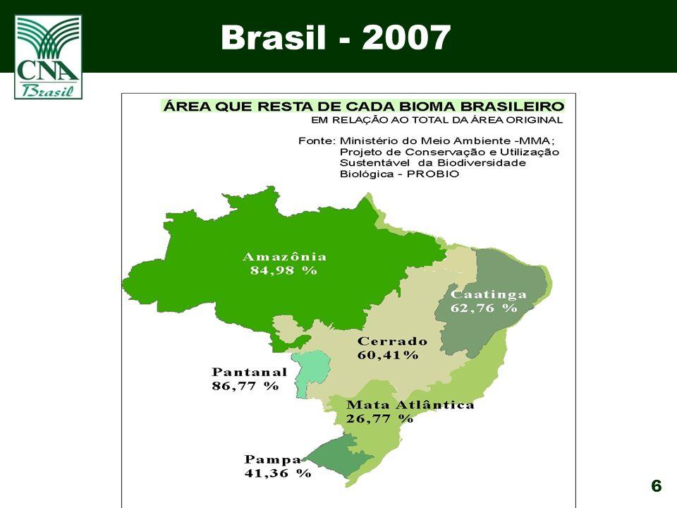 6 Brasil - 2007
