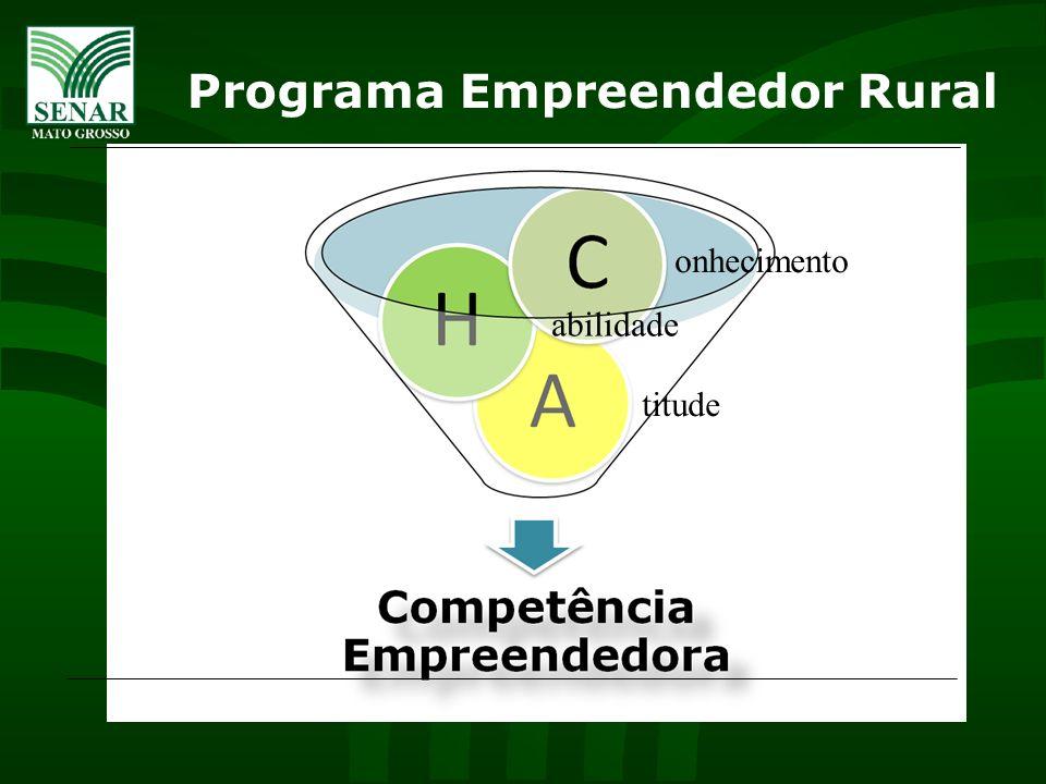 Programa Empreendedor Rural onhecimento abilidade titude