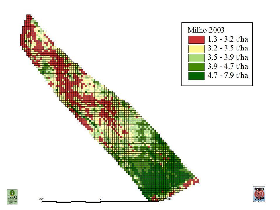 Somente depois de quantificar a variabilidade espacial é possível se investigar as relações entre causas e efeito.