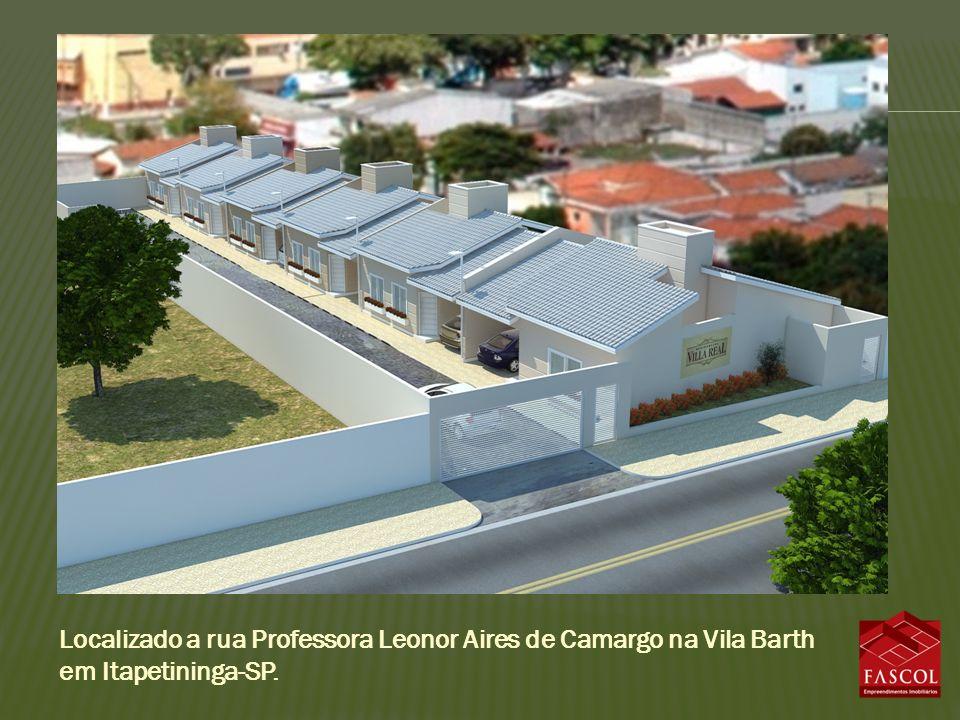 Localizado a rua Professora Leonor Aires de Camargo na Vila Barth em Itapetininga-SP.