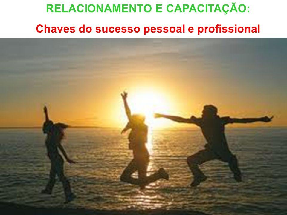 RELACIONAMENTO E CAPACITAÇÃO: Chaves do sucesso pessoal e profissional