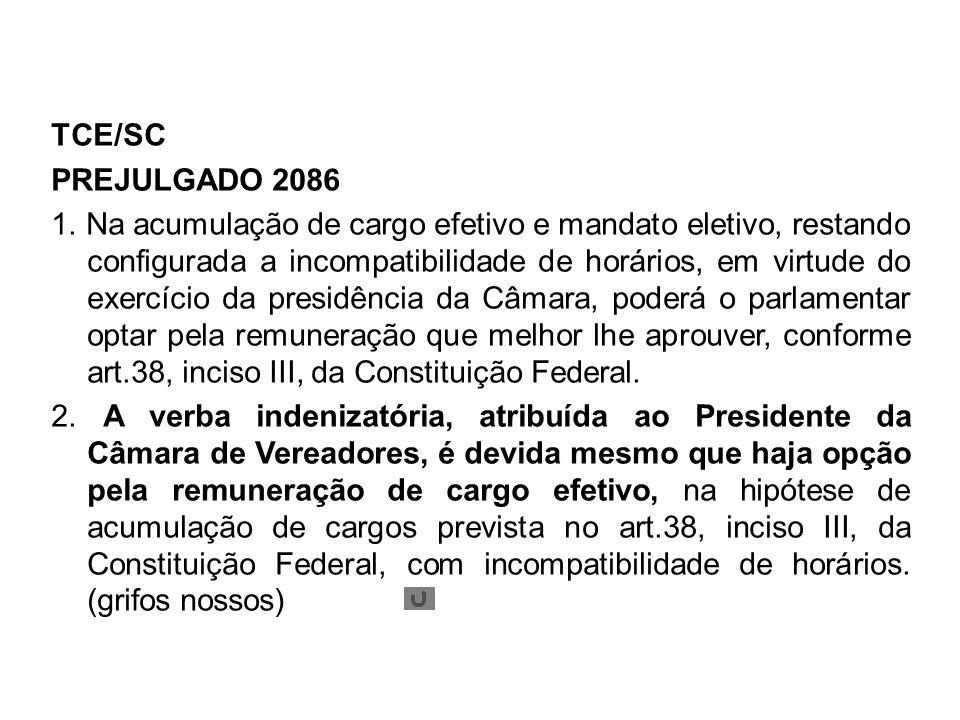 TCE/SC PREJULGADO 2086 1.