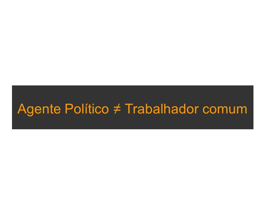 Agente Político Trabalhador comum