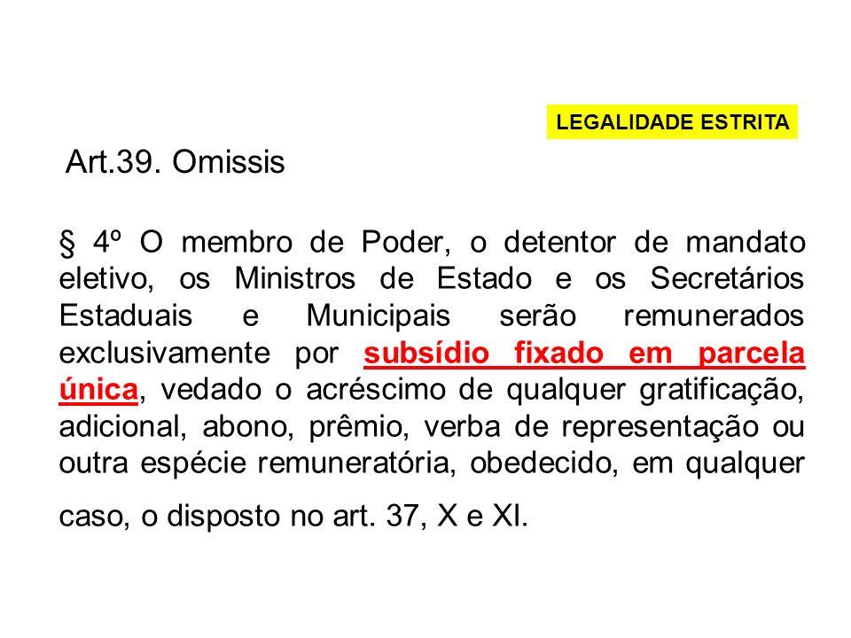 Subsídio do Deputado Estadual –CF, art.29, inc.