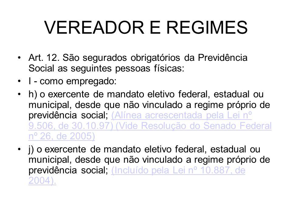 AVERBAÇÕES E EFEITOS CONSTITUCIONAIS Art.40.