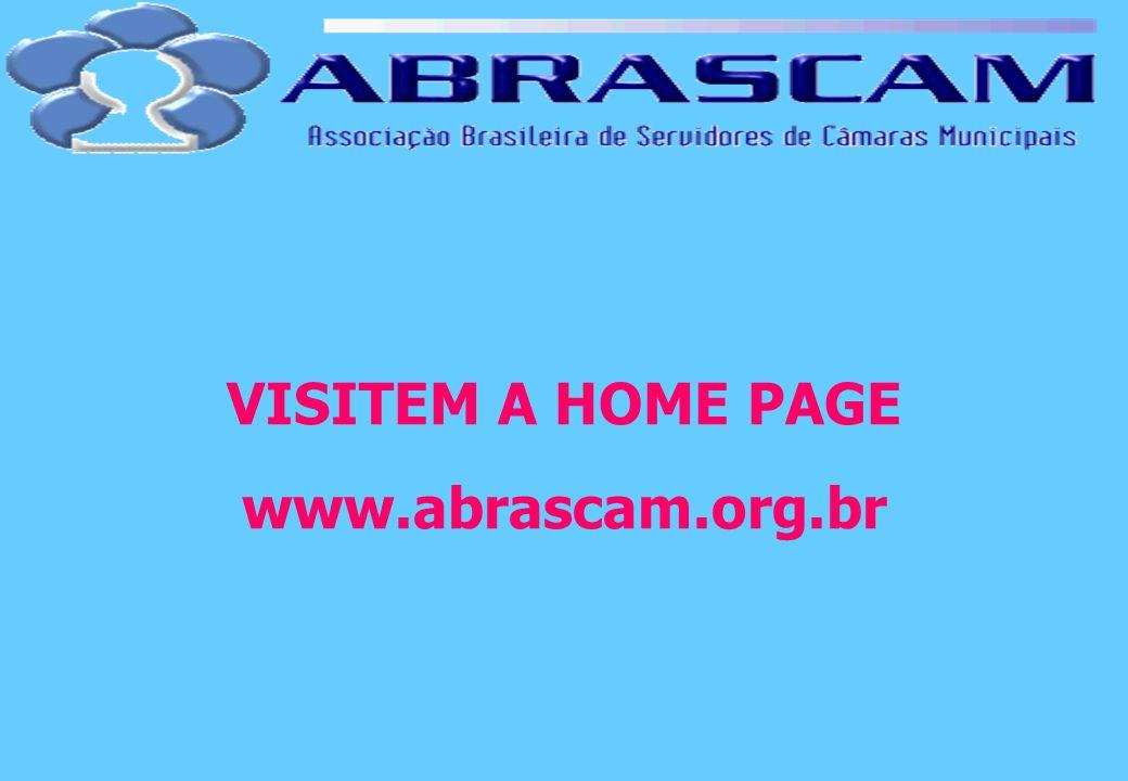 VISITEM A HOME PAGE www.abrascam.org.br