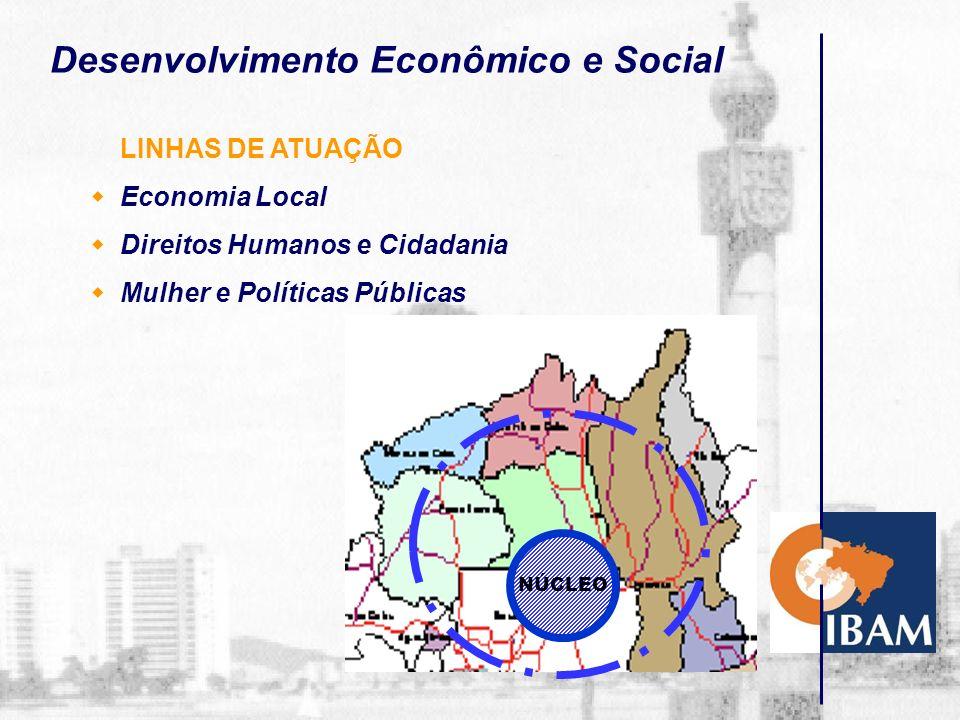 Organização e Gestão LINHAS DE ATUAÇÃO Organização Administrativa Recursos Humanos Finanças Públicas Controle Ambiental Vigilância Sanitária Sanea- mento Urbanismo Obras Públicas Tributos Coord.