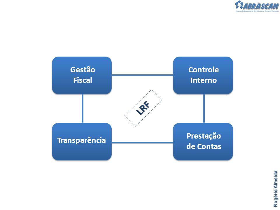 Rogério Almeida Gestão Fiscal Controle Interno Prestação de Contas Transparência LRF