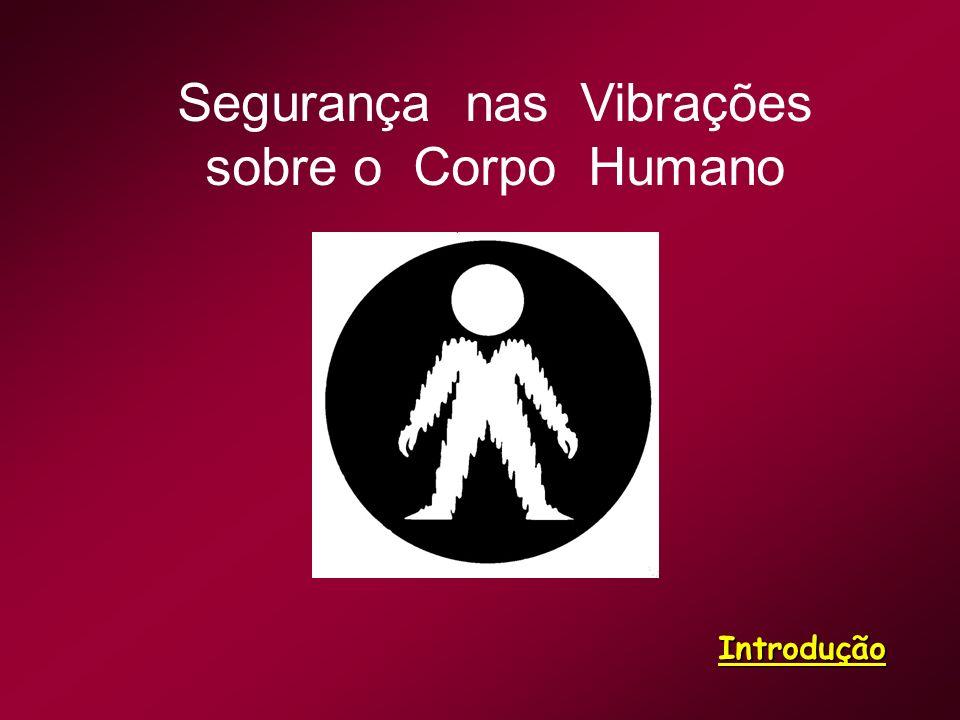 Segurança nas Vibrações sobre o Corpo Humano Introdução