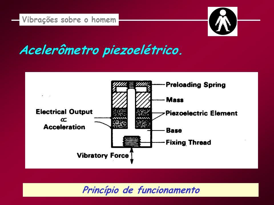 Vibrações sobre o homem Princípio de funcionamento