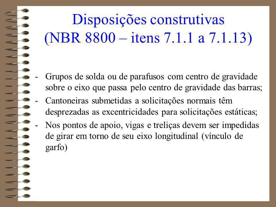 1.Ligações soldadas (NBR 8800 – item 7.2) Definições Solda de entalhe Solda de filete