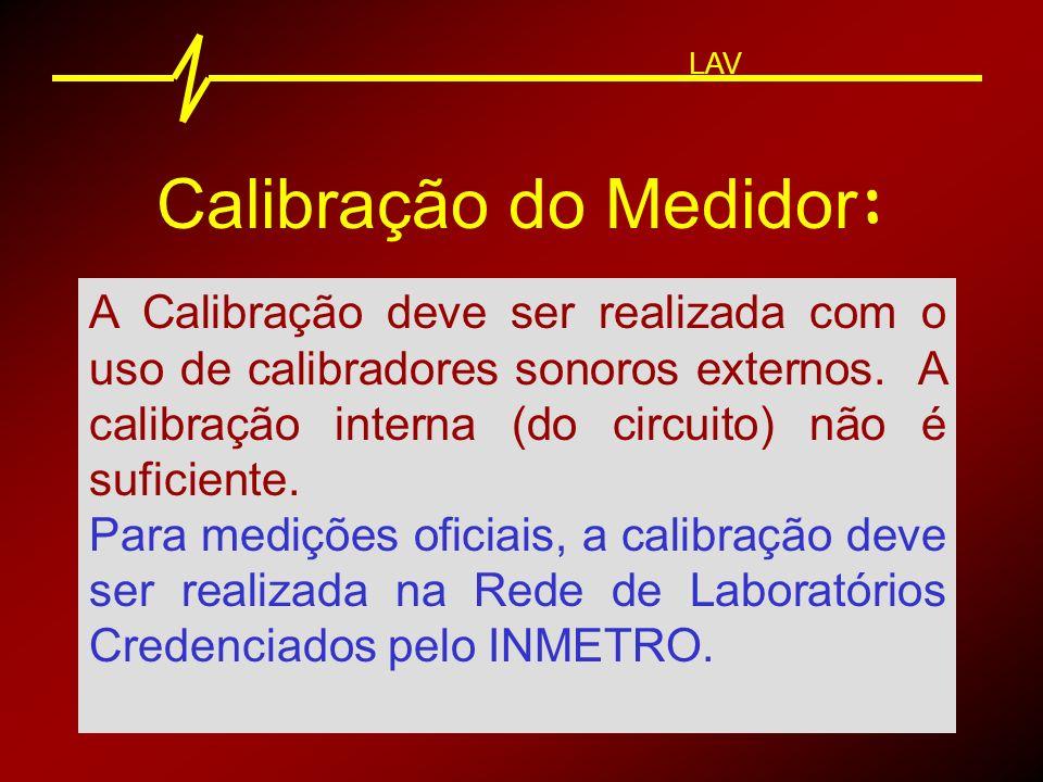 Calibrador : LAV