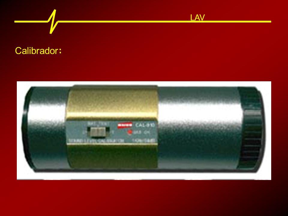 Tipos de Ruído : LAV Ruído Contínuo 80 90 dB Tempo 70 60 Variação menor que 3 dB