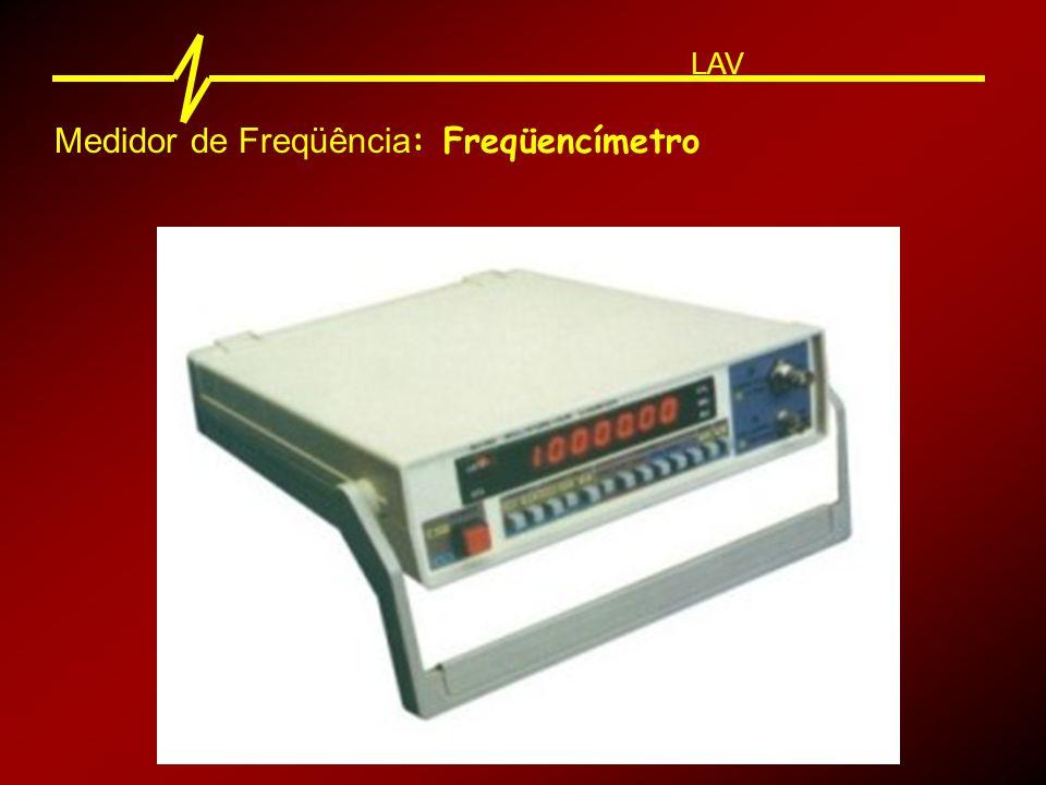 Análise espectral: LAV Fazer a análise espectral de um sinal sonoro é verificar a intensidade sonora existente em cada banda de freqüências.