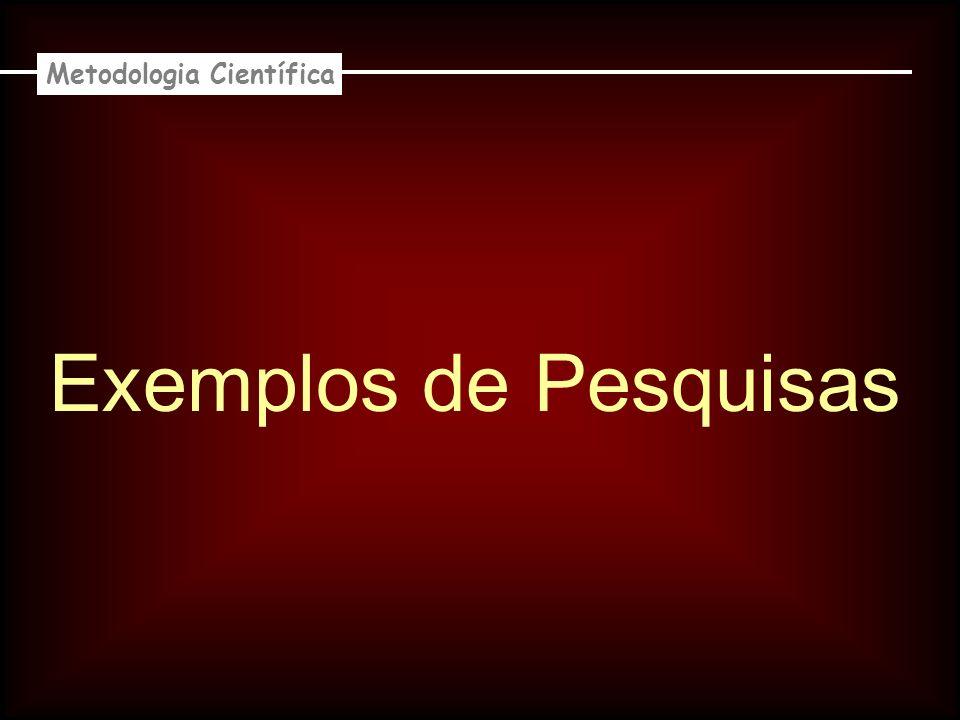 1ª Pesquisa : Proposta de Alteração da Legislação Brasileira sobre Exposição ao Ruído Metodologia Científica