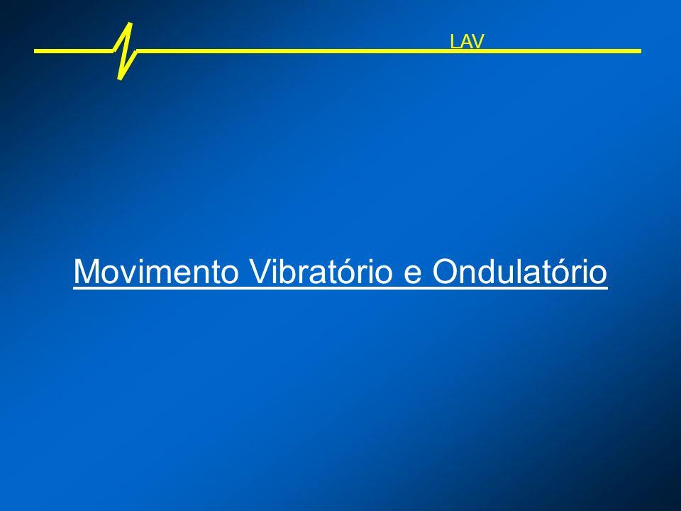 LAV Movimento Vibratório e Ondulatório